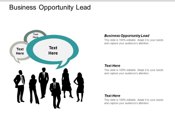 Business Opportunity Lead Ppt PowerPoint Presentation Ideas Demonstration Cpb