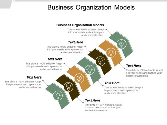Business Organization Models Ppt Powerpoint Presentation Outline Ideas Cpb