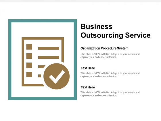 Business Outsourcing Service Ppt PowerPoint Presentation Show Background Designs Cpb