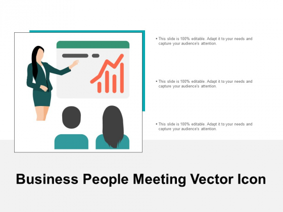 Business People Meeting Vector Icon Ppt PowerPoint Presentation Professional Backgrounds