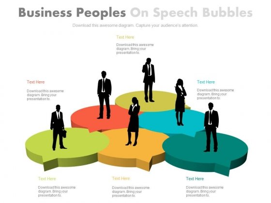 Business People Team Introduction Powerpoint Slides