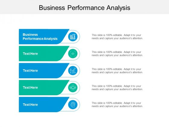 Business Performance Analysis Ppt PowerPoint Presentation Pictures Background Image Cpb