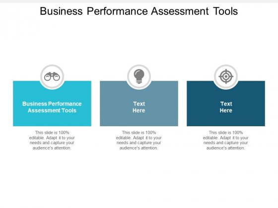 Business Performance Assessment Tools Ppt PowerPoint Presentation Example File Cpb