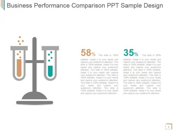 Business Performance Comparison Ppt PowerPoint Presentation Examples
