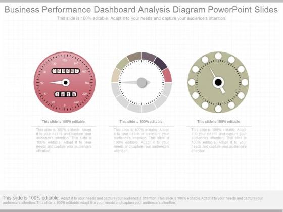 Business Performance Dashboard Analysis Diagram Powerpoint Slides