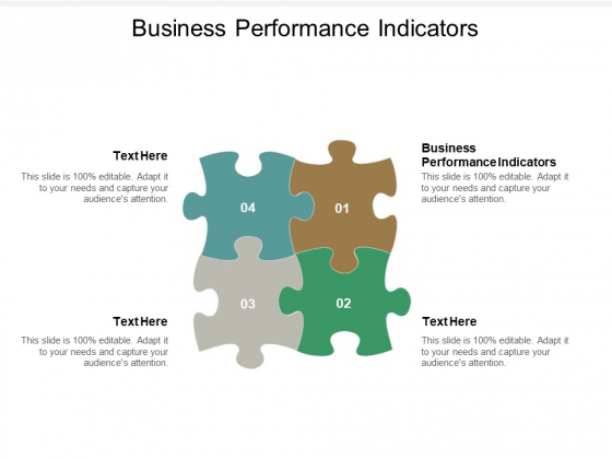 Business Performance Indicators Ppt PowerPoint Presentation Visual Aids Diagrams Cpb