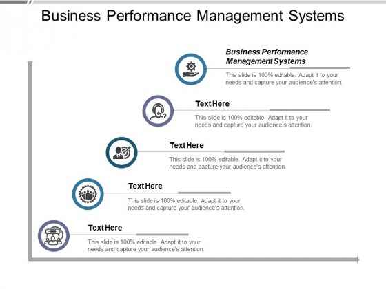 Business Performance Management Systems Ppt PowerPoint Presentation Slides Deck