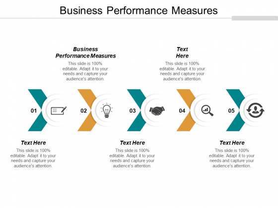 Business Performance Measures Ppt PowerPoint Presentation Styles Sample Cpb