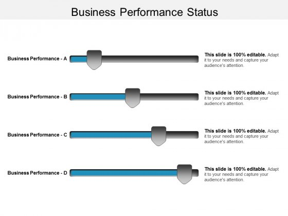 Business Performance Status Ppt PowerPoint Presentation Model Professional