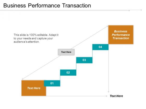 Business Performance Transaction Ppt PowerPoint Presentation Slides Brochure Cpb