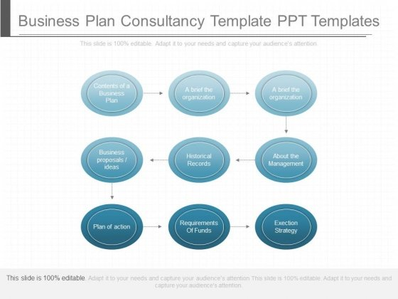 starting a consulting firm business plan