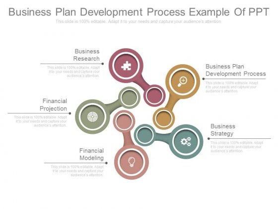 Business Plan Development Process Example Of Ppt