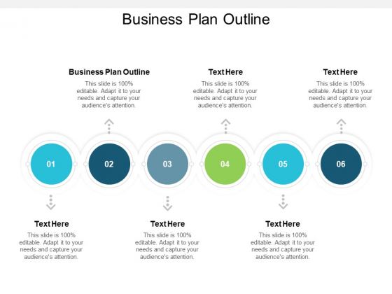 Business Plan Outline Ppt PowerPoint Presentation Styles Slides Cpb