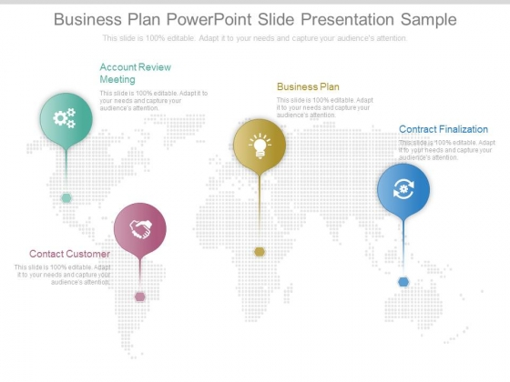 Business Plan Powerpoint Slide Presentation Sample