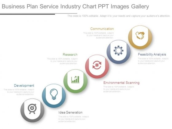Business Plan Service Industry Chart Ppt Images Gallery