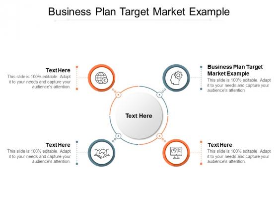 Business Plan Target Market Example Ppt PowerPoint Presentation Slides Portrait Cpb