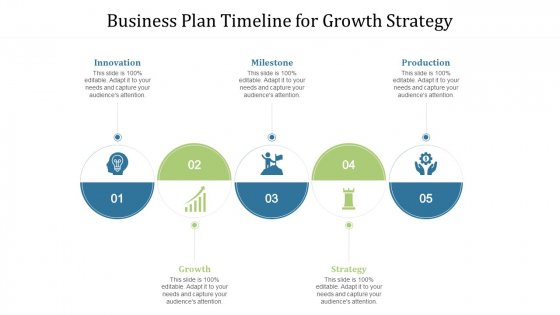 Business Plan Timeline For Growth Strategy Ppt File Design Templates PDF