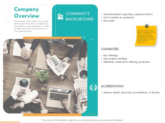 Business Planning And Strategy Playbook Company Overview Ppt PowerPoint Presentation Ideas Graphics Tutorials PDF