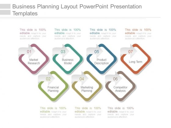 Business Planning Layout Powerpoint Presentation Templates