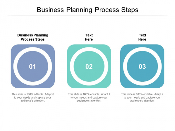 Business Planning Process Steps Ppt PowerPoint Presentation Portfolio Example Cpb