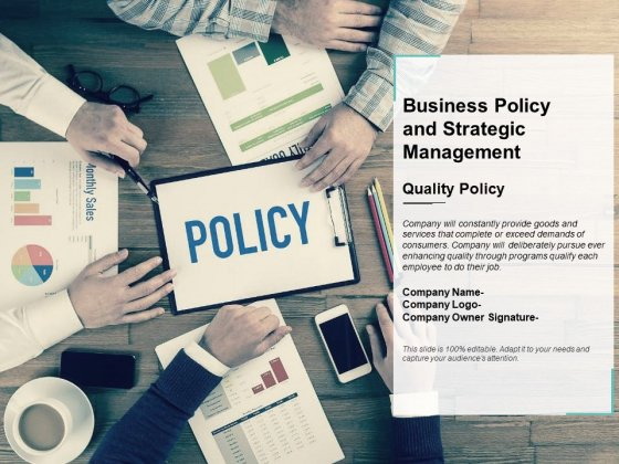 Business Policy And Strategic Management Ppt PowerPoint Presentation Portfolio Guide