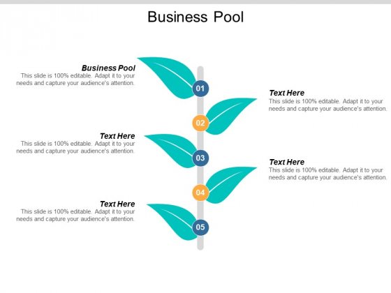 Business Pool Ppt PowerPoint Presentation Slides Visuals Cpb