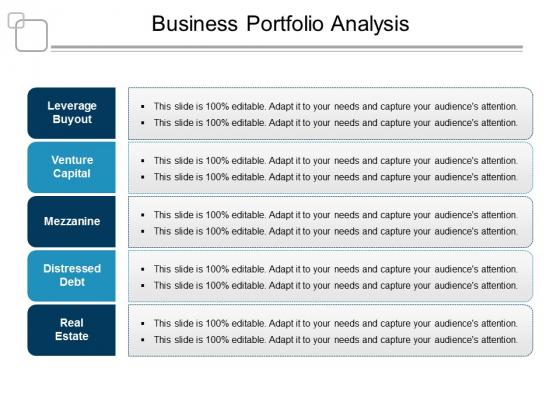 Business Portfolio Analysis Ppt PowerPoint Presentation File Layouts