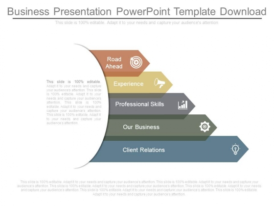business presentation powerpoint template download powerpoint templates