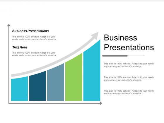 Business Presentations Ppt Powerpoint Presentation Gallery Templates Cpb