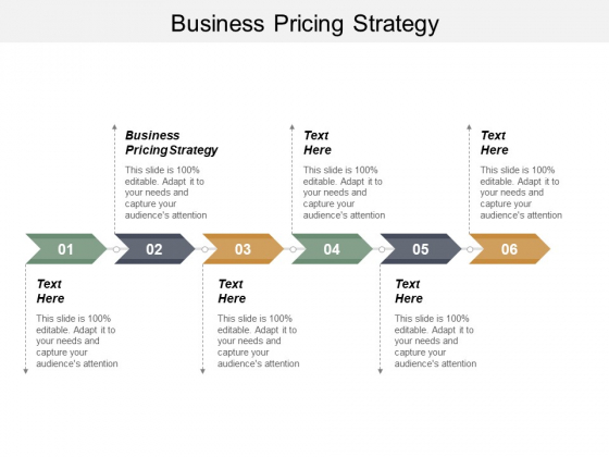 Business Pricing Strategy Ppt PowerPoint Presentation Outline Graphics Cpb