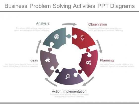Business Problem Solving Activities Ppt Diagrams