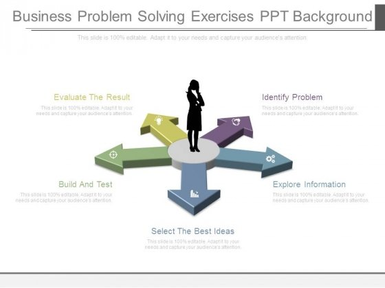 Business Problem Solving Exercises Ppt Background