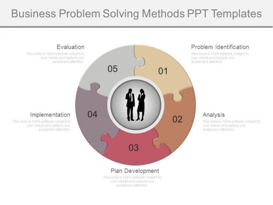Business Problem Solving Methods Ppt Templates