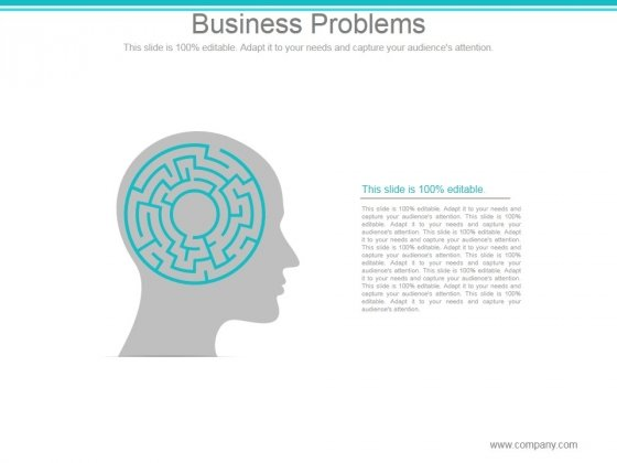 Business Problems Ppt PowerPoint Presentation Inspiration