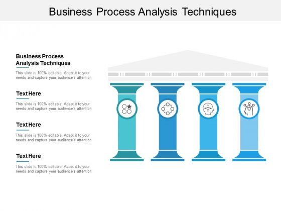 Business Process Analysis Techniques Ppt PowerPoint Presentation Professional Graphic Images Cpb