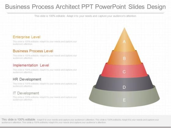 Business Process Architect Ppt Powerpoint Slides Design