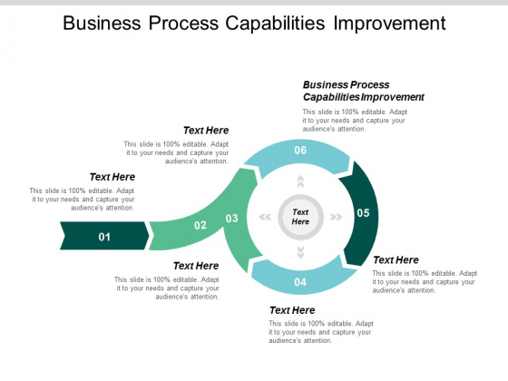 Business Process Capabilities Improvement Ppt Powerpoint Presentation Styles Vector Cpb