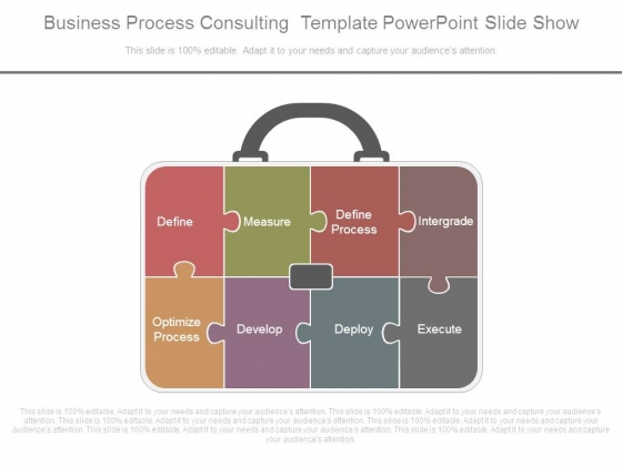 Business Process Consulting Template Powerpoint Slide Show