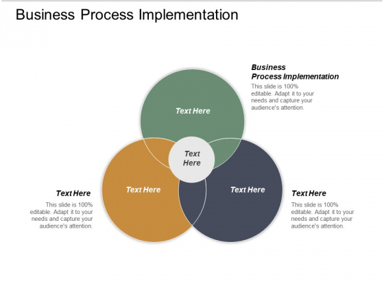 Business Process Implementation Ppt PowerPoint Presentation Gallery Icon Cpb