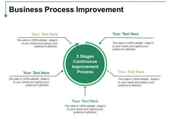 Business Process Improvement Ppt PowerPoint Presentation Infographics Show