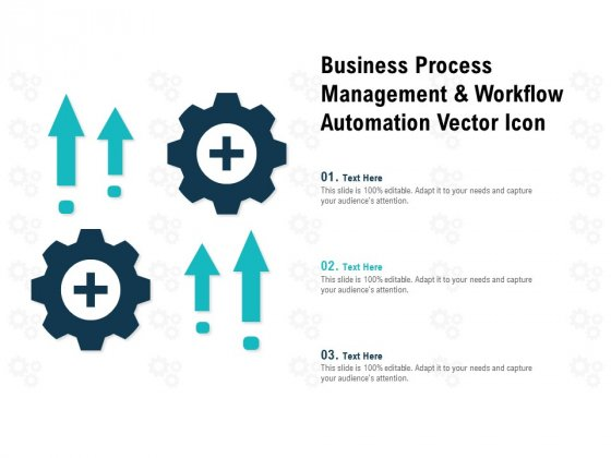 Business Process Management And Workflow Automation Vector Icon Ppt PowerPoint Presentation Icon Ideas
