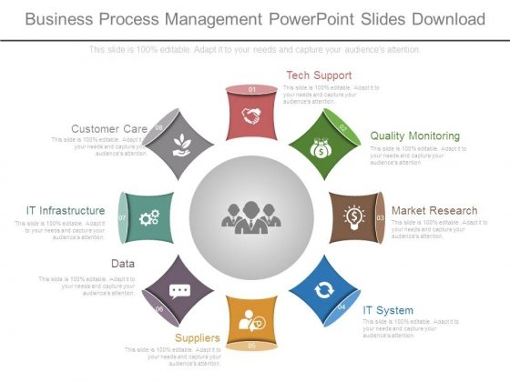 business process management ppt Business Process Management Powerpoint Slides Download - PowerPoint ...