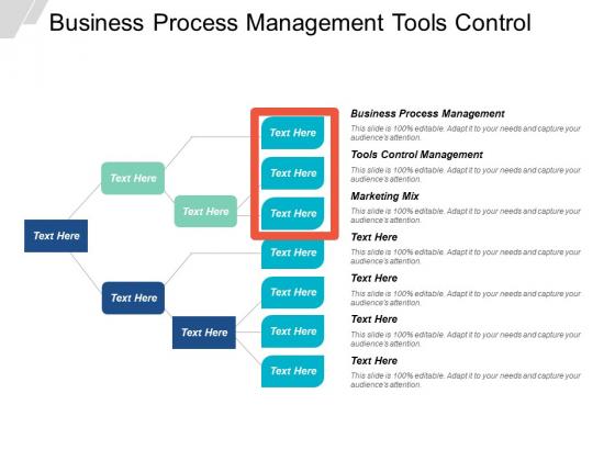 Business Process Management Tools Control Management Marketing Mix Ppt PowerPoint Presentation Gallery Deck