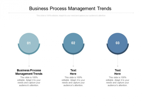 Business Process Management Trends Ppt PowerPoint Presentation Summary Show