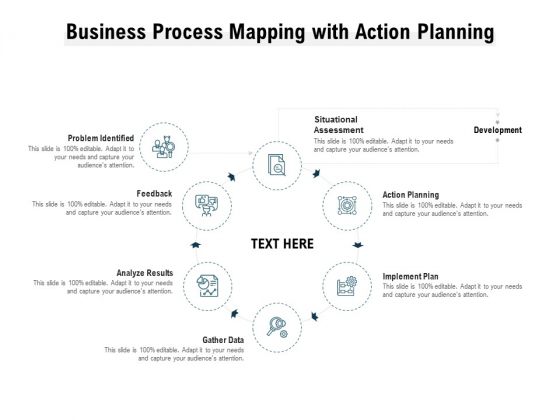 Business Process Mapping With Action Planning Ppt PowerPoint Presentation Icon Format