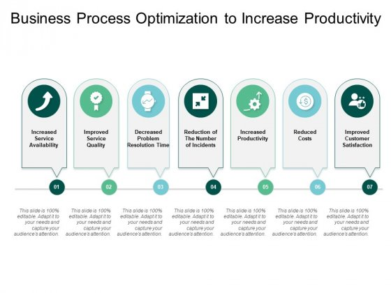 Business Process Optimization To Increase Productivity Ppt Powerpoint Presentation File Show
