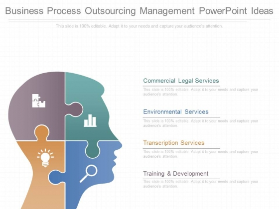 Business Process Outsourcing Management Powerpoint Ideas