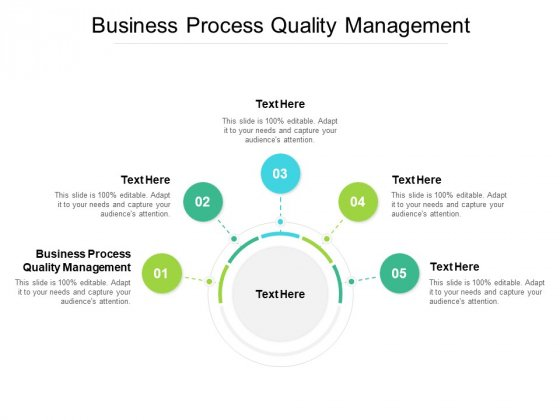 Business Process Quality Management Ppt PowerPoint Presentation Styles Summary Cpb