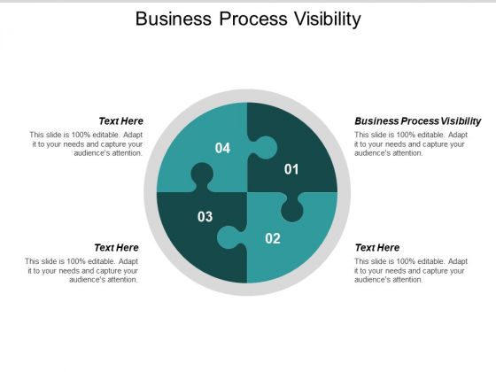 Business Process Visibility Ppt PowerPoint Presentation Show Cpb