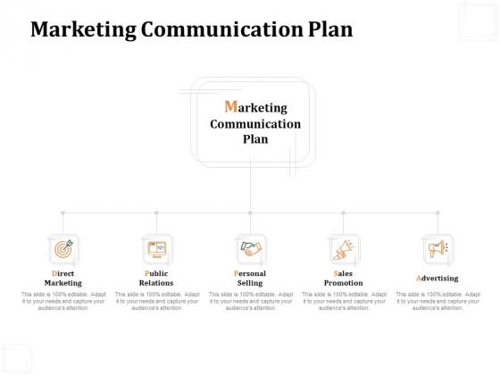 Business Product Development Plan Marketing Communication Plan Ppt Outline Graphics Design PDF